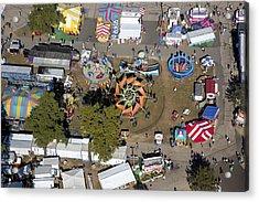 Fryeburg Fair, Maine Me Acrylic Print by Dave Cleaveland