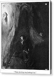 H Acrylic Print by Granger
