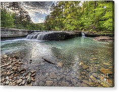 Haw Creek Falls Acrylic Print