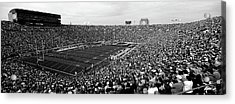 High Angle View Of A Football Stadium Acrylic Print by Panoramic Images