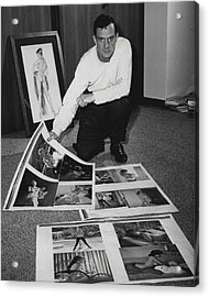 Hugh Hefner Acrylic Print by Retro Images Archive