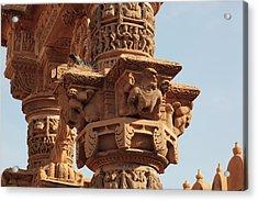 India, Rajasthan, Jaisalmer Acrylic Print by Alida Latham