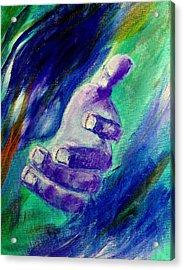 Jesus Loves You Acrylic Print