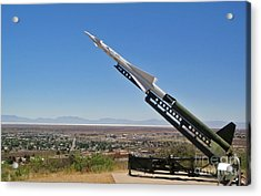 John P. Stapp Air And Space Park  Acrylic Print by Gregory Dyer