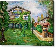 Landscape Acrylic Print by Milen Litchkov