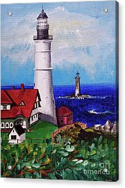 Lighthouse Hill Acrylic Print