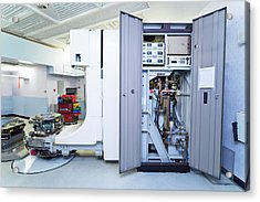 Linear Accelerator Acrylic Print by Antonia Reeve/science Photo Library