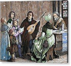 Martin Luther (eisleben, 1483 Acrylic Print