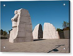Martin Luther King Jr Memorial Acrylic Print by Lee Foster