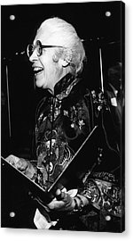 Melba Phillips Acrylic Print by Emilio Segre Visual Archives/american Institute Of Physics
