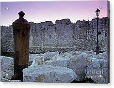 Methoni Castle Acrylic Print