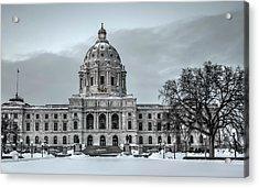 Minnesota State Capitol St Paul Acrylic Print