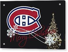 Montreal Canadiens Acrylic Print by Joe Hamilton