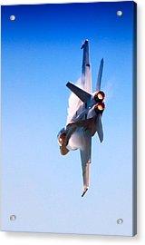 Navy F-18 Super Hornet Acrylic Print by Celso Diniz