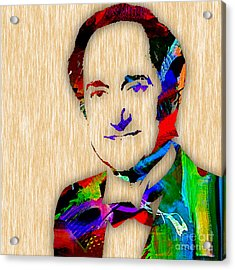 Neil Sedaka Collection Acrylic Print by Marvin Blaine