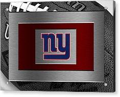 New York Giants Acrylic Print by Joe Hamilton