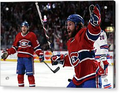 New York Rangers V Montreal Canadiens - Acrylic Print