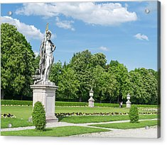Nymphenburg Palace And Park In Munich Acrylic Print