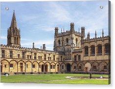 Oxford Acrylic Print by Joana Kruse