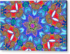 Pattern 4 Acrylic Print