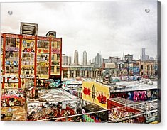 5 Pointz In Itz Prime Acrylic Print by Nishanth Gopinathan