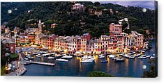 Acrylic Print featuring the photograph Portofino Italy by Carl Amoth