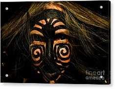 Acrylic Print featuring the photograph Primal Women by Kristen R Kennedy