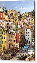 Riomaggiore Acrylic Print by Joana Kruse