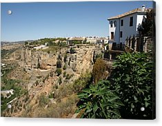 Acrylic Print featuring the photograph Ronda by Christian Zesewitz