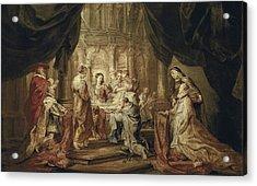 Rubens, Peter Paul 1577-1640. The Acrylic Print by Everett