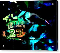 Acrylic Print featuring the digital art 5 Seconds Left by Brian Reaves