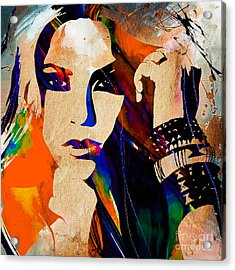 Shakira Collection Acrylic Print