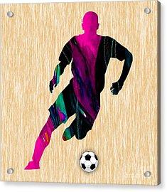 Soccer Acrylic Print