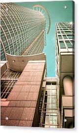 space at Frankfurt Acrylic Print by Steffen Gierok