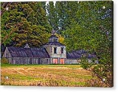 5 Star Barn Acrylic Print by Steve Harrington