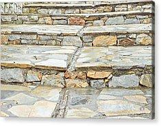 Stone Steps Acrylic Print by Tom Gowanlock