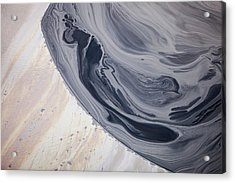 Tailings Pond At The Syncrude Mine Acrylic Print by Ashley Cooper