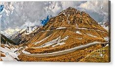 Transfagarasan Highway Acrylic Print by Gabriela Insuratelu