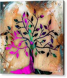 Tree Of Life Painting Acrylic Print