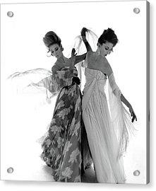 Vogue February 1st, 1961 Acrylic Print