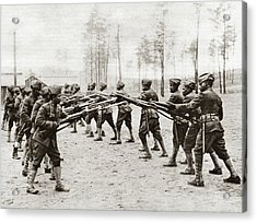 World War I Training Acrylic Print