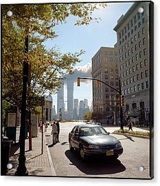 Wtc Attacks September 11, 2001 Acrylic Print