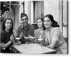 Wwii Sicily, 1943 Acrylic Print by Granger