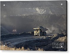 Wyoming Coal Mine Acrylic Print