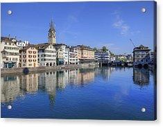 Zurich Acrylic Print by Joana Kruse