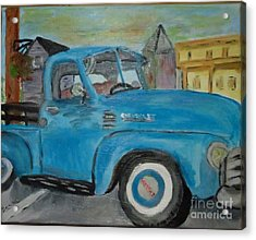 50 Chevy In Tannersville Acrylic Print