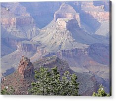50 Shades Of Purple In The Grand Canyon Acrylic Print