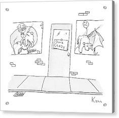 New Yorker April 21st, 2008 Acrylic Print