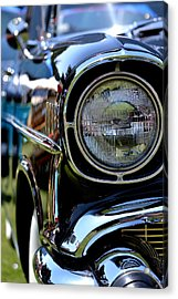 Acrylic Print featuring the photograph 50's Chevy by Dean Ferreira