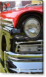 Acrylic Print featuring the photograph 50's Ford by Dean Ferreira